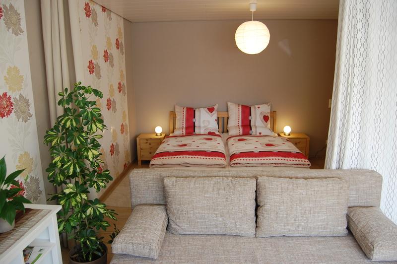 flurbad - Wohn Und Schlafzimmer